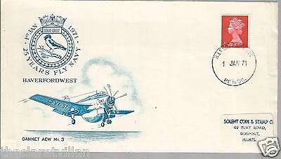 25 Years Fly Navy - 1971 Haverfordwest Gannet AEW Mk. 3 Commemorative Cover