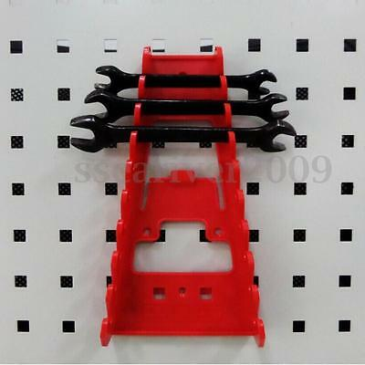 Wrenches Rack Standard Organizer Holder Tool Max Load 5KG Red