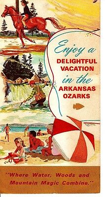 Cherokee Village Development Co Arkansas Ozarks Vintage Brochure