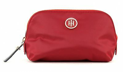 TOMMY HILFIGER Cosmetictasche Poppy Make Up Bag Scooter Red