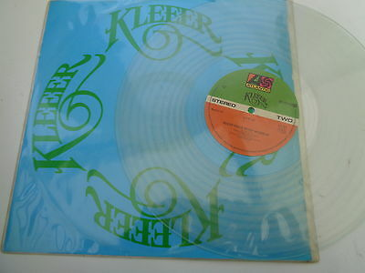 kleeer   12  inch  single  on  atlantic  records  1978   on clear  vinyl