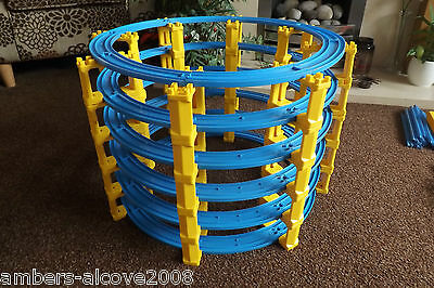 Tomy Thomas Trackmaster Blue Track- 6 Tier Tower Of Track,run Multiple Engines!!