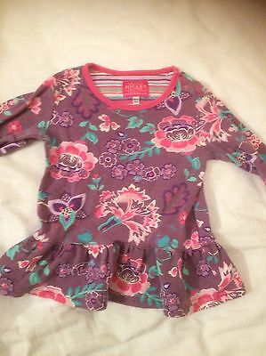 Joules Tunic Top 18-24 Months Good Condition