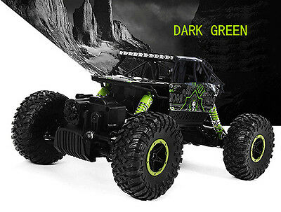 Green HB P1803 2.4GHz RC Car Rock Crawler 4 Wheel Drive Off-road Race Trunk Toy