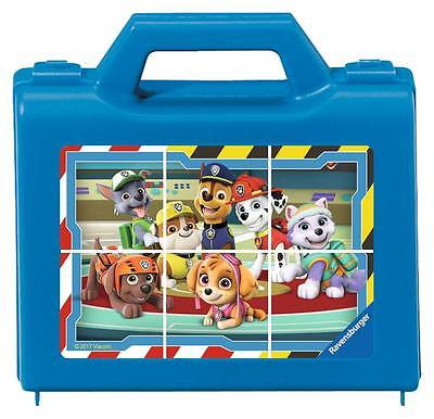 Ravensburger 07427 Colourful High Quality 6 Piece Paw Patrol Cube Puzzle - Multi