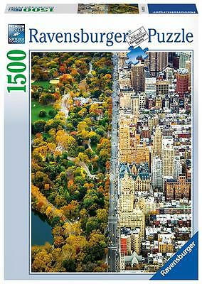 Ravensburger 16254 High Quality Divided City New York 1500 Pieces Jigsaw Puzzle