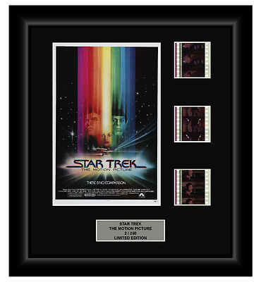 Star Trek: The Motion Picture (1979) - 3 Cell Film Display