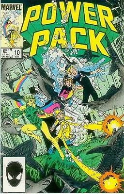 Power Pack # 10 (USA, 1985)