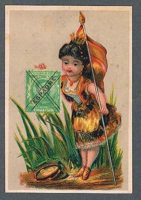 Original 1900's Atlantic & Pacific Tea Co. New York Advertising Trade Card
