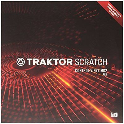 NATIVE INSTRUMENTS Traktor Scratch - Control Vinyl Red MKII