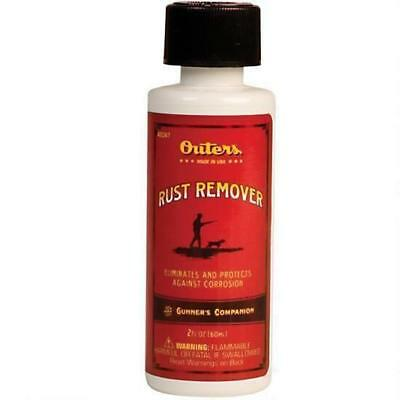 OUTERS 2 Oz. Bottle 42047 Rust Remover Solvent Safe for Blue Black Finish