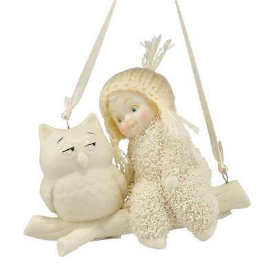 Snowbabies Department 56 Wise Advice Hanging Ornament New Boxed 4045815