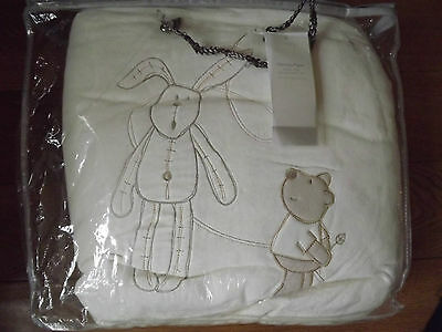 New Mamas And Papas  Cot Bed Duvet Quilt & Pillowcase  Millie And Boris Rrp £69