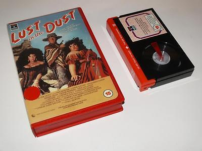Betamax Video ~ Lust in the Dust ~ Divine ~ Large Case Ex-Rental ~ RCA/Columbia