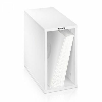 Zomo VSBox 12 Inch LP Vinyl Record Storage Box 50 (white, flat-packed)