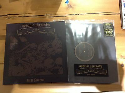 APHONIC THRENODY - First Funeral LP - MINT 2013 - Funeral Doom Esoteric