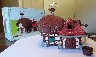 Smurfs 4.9025 SMURF FARMHOUSE Complete in Box Rare Vintage Collectible Playset
