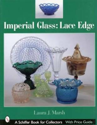 ID $$ BOOK Imperial Glass Lace Edge Crocheted Crystal