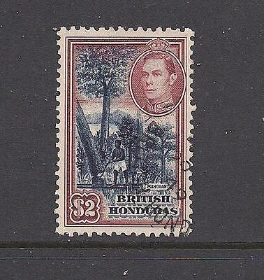 British Honduras 1938 $2 FU/VFU cat £38