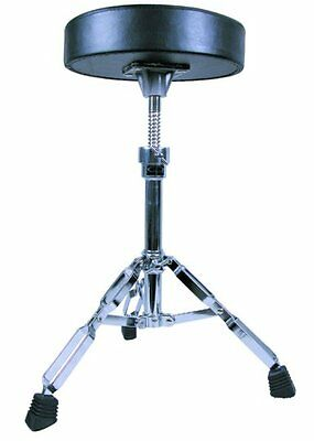 GP Percussion Double Braced Drummers Throne with Height Adjustment DT82