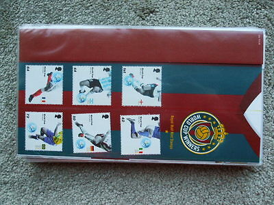 Royal Mail Mint Stamps Presentation Pack World Cup Winners 2006