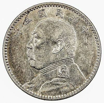 CHINA: silver 20 cents, year 3 (1914)