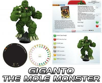 GIGANTO G004 Galactic Guardians Marvel HeroClix colossal