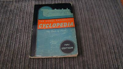 Vtg The Model Railroader Cyclopedia The Book Of Plans, 1941 Edition Book