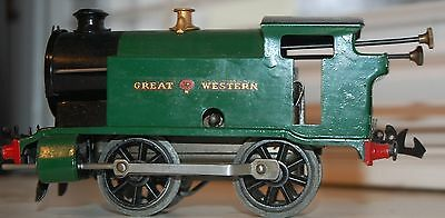 Hornby Series O Gauge C/w 101 Tank Loco In Gwr Green Livery Refurbished