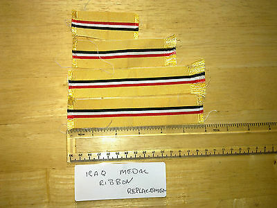 Replacement Iraq Medal Ribbons