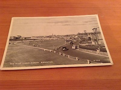 Postcard - The West Links, North Berwick. 1962