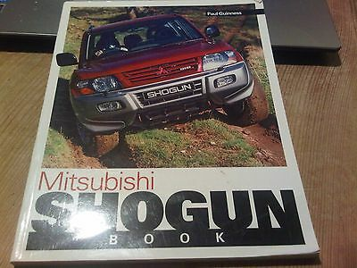 Mitsubishi Shogun Book Paul Guinness Haynes You & Your Pajero Montera Buying etc