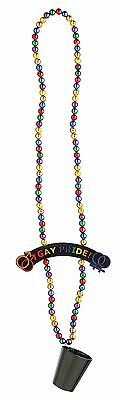 Rainbow Gay Pride Costume Jewelry Beads One Size