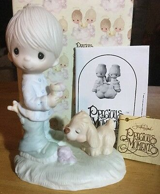 Precious Moments Praise The Lord Anyhow 1976 Vintage