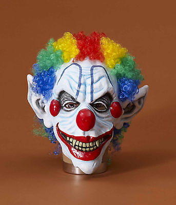 Sinister Mister Clown Adult Costume Mask