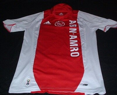 Ajax Amsterdam Holland Dutch Nethlands Football Small Mans Adidas Home Jersey