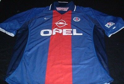 PSG Paris Saint Germain Soccer Football XL Extra Large Mans Nike Home Top France