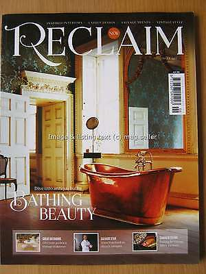 Reclaim magazine September 2016 Issue Six 6 Bathing Beauty Interiors Salvage
