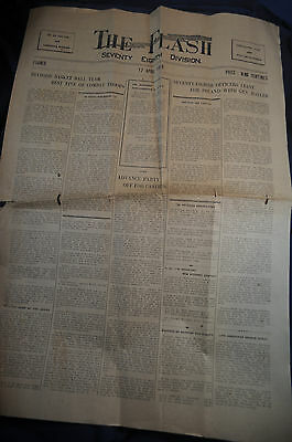 17 April 1919 AEF Newspaper in France 78th Division The Flash