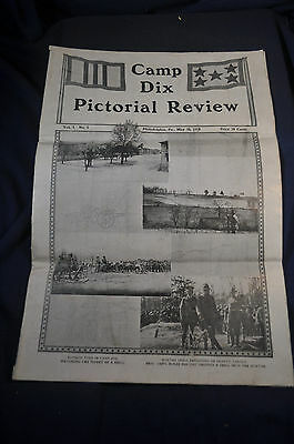 1918 Camp Dix Pictorial Review