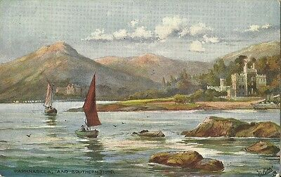 Parknasilla And Southern Hotel Sneem Co Kerry 1906 Tuck Oilette #7423 Postcard