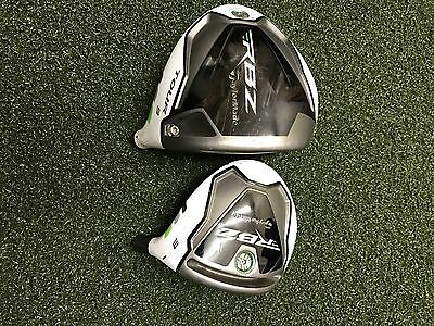 TaylorMade RBZ Tour 9* Driver & RBZ #3 Fairway Wood HEADS ONLY*