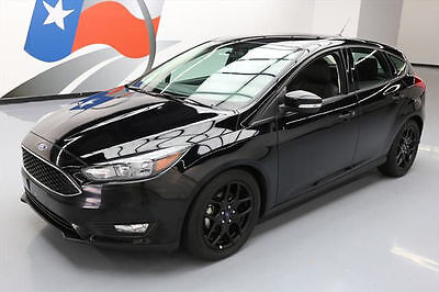 2016 Ford Focus  2016 FORD FOCUS SE HATCHBACK AUTO LEATHER REAR CAM 32K #239376 Texas Direct Auto