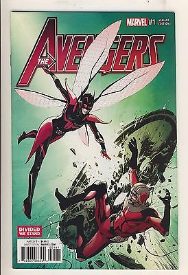 Avengers (2017) 1 NM Guice Divided We Stand Variant Cover