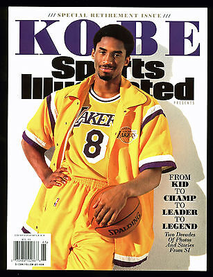 Lakers Kobe Bryant Sports Illustrated Retirement Issue 3.24.16 Un-signed