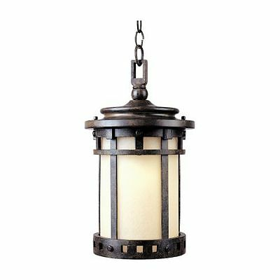 Maxim 55038MOSE Santa Barbara 1 Light 9'' Pendant with Frosted Glass Shade