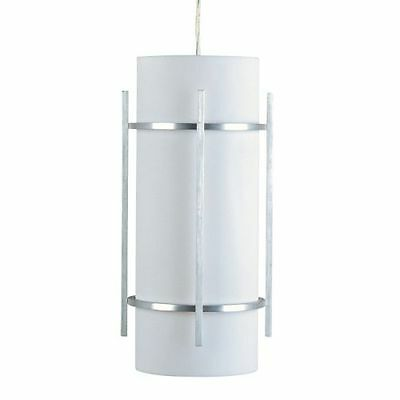 Maxim 55213WTBM Luna 1 Light 7.25'' Pendant with Frosted Glass Shade