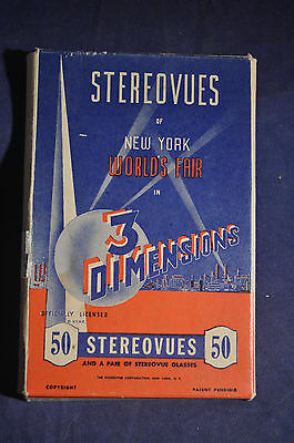 1939 *RARE* New York Worlds Fair Stereovues