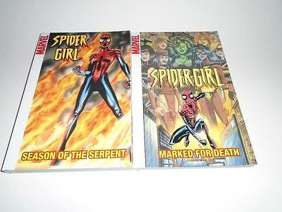 New!! Lot of 2 Spider-Girl #s 10 & 11 Marvel Graphic Novel Softcover
