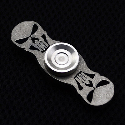 Cool EDC Hand Spinner Finger Gyro Titanium Alloy Fidget Spinner Focus Desk Toy